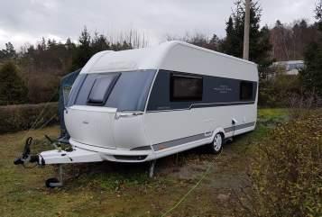 Caravan Hobby Weltenbummler in Hohen Neuendorf huren van particulier