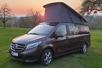 Kampeerbus Mercedes-Benz Martin in Backnang huren van particulier