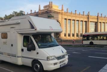 Alkoof Fiat Ducato Su in Solingen huren van particulier