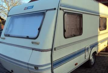 Caravan Wilk Kuschelbrummer in Karlsbad huren van particulier