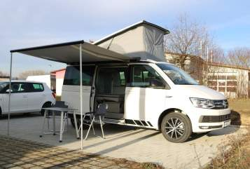 Kampeerbus VW Horst in Singen huren van particulier