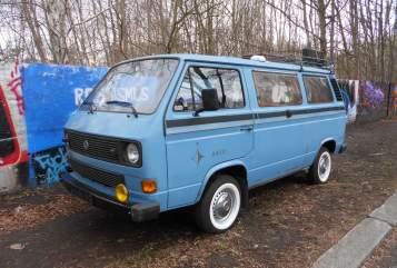 Kampeerbus VW T3 Westfalia Joker Retro Ronny in Finsterwalde huren van particulier