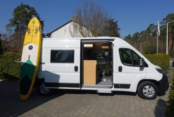 Buscamper Pössl Camper Clever in Nürnberg huren van particulier