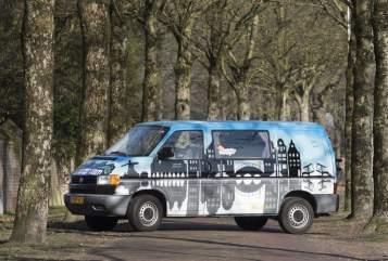 Kampeerbus VW Amsterdam in Mierlo huren van particulier