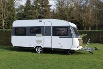 Caravan Hobby Karl-Heinz in Nordhorn huren van particulier