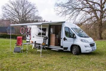 Buscamper Fiat Tante Ami in Hamburg huren van particulier