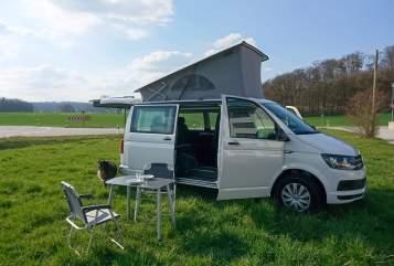 Kampeerbus VW Luxi in Friedberg huren van particulier