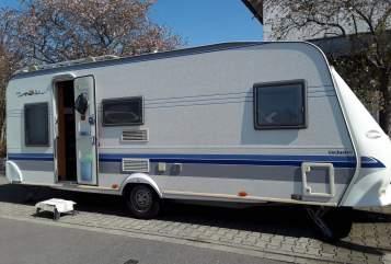 Caravan Hobby Familycamper in Walldorf huren van particulier