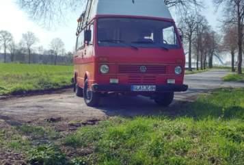 Kampeerbus Volkswagen VW LT Oldtimer  in Gladbeck huren van particulier