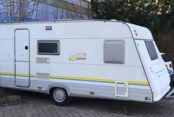 Caravan Bürstner  Clubbi in Fuldatal huren van particulier