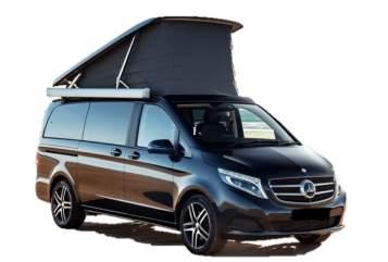 Kampeerbus Mercedes Benz V-klasse Marco Polo West in Emst huren van particulier