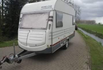 Caravan home car home car rally in Hamburg huren van particulier