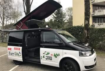 """Kampeerbus VW """"Spacy L"""" in Stockach huren van particulier"""