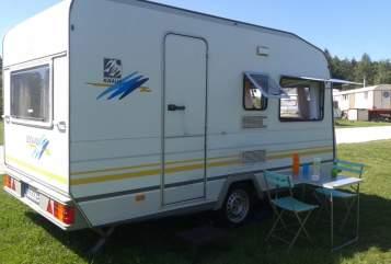 Caravan Knaus Knaus 395TK in Eigeltingen huren van particulier