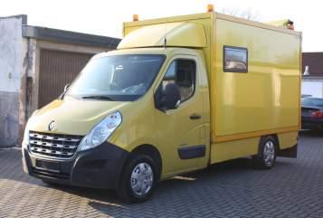 Halfintegraal Renault Master Fritz in Duisburg huren van particulier