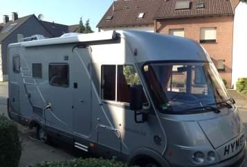 Integraal Hymermobil Hansi in Duisburg huren van particulier