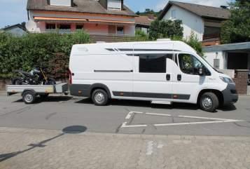 Buscamper Pössl Roadcar Michels Roadcar in Bensheim huren van particulier
