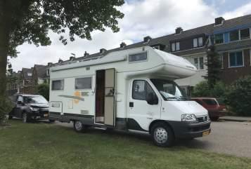 Alkoof Fiat Ducato Zonny in Haarlem huren van particulier
