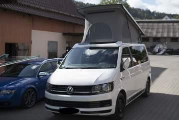 Kampeerbus VW  CaSimir in Mainz huren van particulier