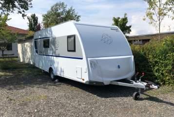 Caravan Knaus Luisa in Neufahrn bei Freising huren van particulier
