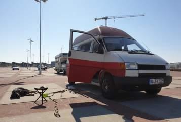 Kampeerbus VW Wade the Bulli in Bruchsal huren van particulier
