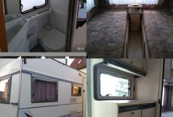 Caravan Bürstner Bürsty in Blaubeuren huren van particulier