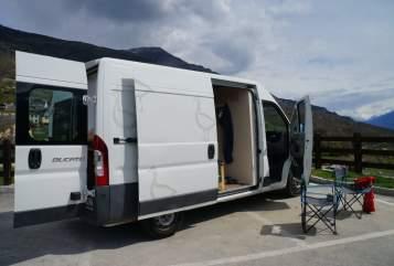 Buscamper Fiat  Gans in Morschheim huren van particulier