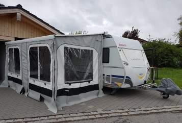 Caravan Dethleffs Familienkutsche in Raubling huren van particulier