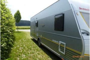 Caravan Dethleffs Wohni in Hartheim am Rhein huren van particulier