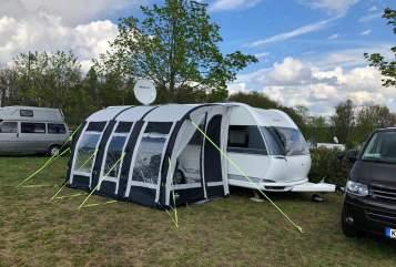 Caravan Hobby Hobby Prestige in Kulmbach huren van particulier