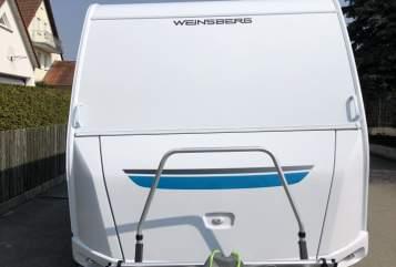 Caravan Weinsberger  Smart für 5 in Kleinaitingen huren van particulier