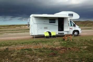 Alkoof Dethleffs  Dogs Holiday  in Verbandsgemeinde Montabaur huren van particulier