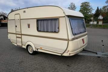 Caravan Tabbert Horsti in Bamberg huren van particulier