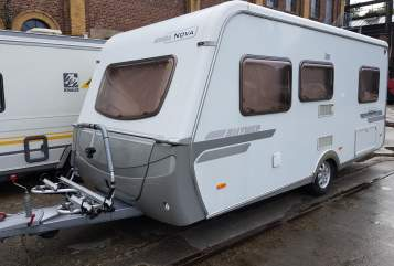 Caravan Hymer Eriba Dicke Berta in Hachenburg huren van particulier