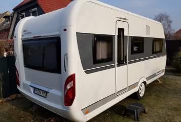Caravan Hobby CoCo1 in Nuthetal huren van particulier