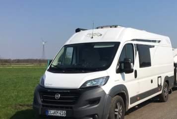 Buscamper Fiat/Pössl Primo in Bockhorst huren van particulier