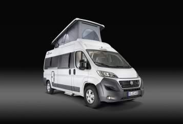 Buscamper VanTourer (auf Peugeot Chassi) Pauli in Frankenthal huren van particulier