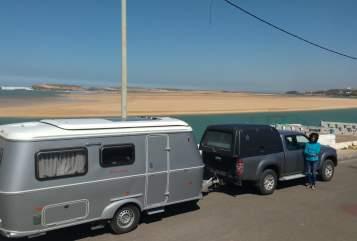 Caravan Hymer Kasbah in Wolfertschwenden huren van particulier