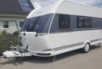 Caravan Hobby  Kid's DeLuxe in Weißenburg i. Bay. huren van particulier