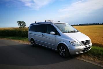 Kampeerbus Mercedes Buddy in Neustadt in Holstein huren van particulier