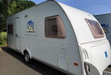 Caravan Knaus Urlaub-to-go in Warendorf huren van particulier