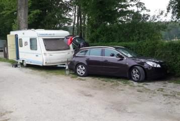 Caravan Caravelair Caravelair in Terwispel huren van particulier