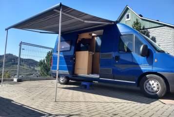 Buscamper Pössl Pössl WoMo in Olsberg huren van particulier