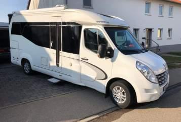 Halfintegraal Hobby Premium Van in Ellwangen huren van particulier