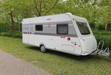 Caravan Sterkeman Sterkeman PE490 in Heilbronn huren van particulier