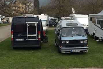 Kampeerbus VW Der Gerät in München huren van particulier