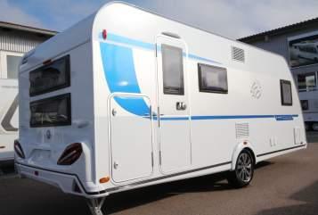 Caravan Knaus Luxus-Schlitten in Königsbrunn huren van particulier