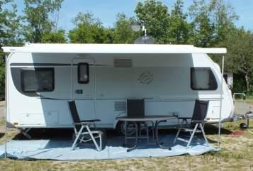 Caravan Knaus Family-Camper in Tirschenreuth huren van particulier
