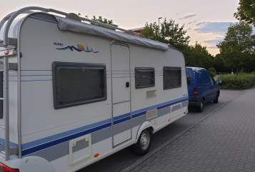 Caravan Hobby 495 UL Hobby  in Friedberg huren van particulier