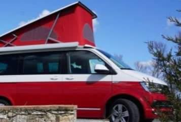 Kampeerbus Volkswagen Calli Camper in Bamberg huren van particulier